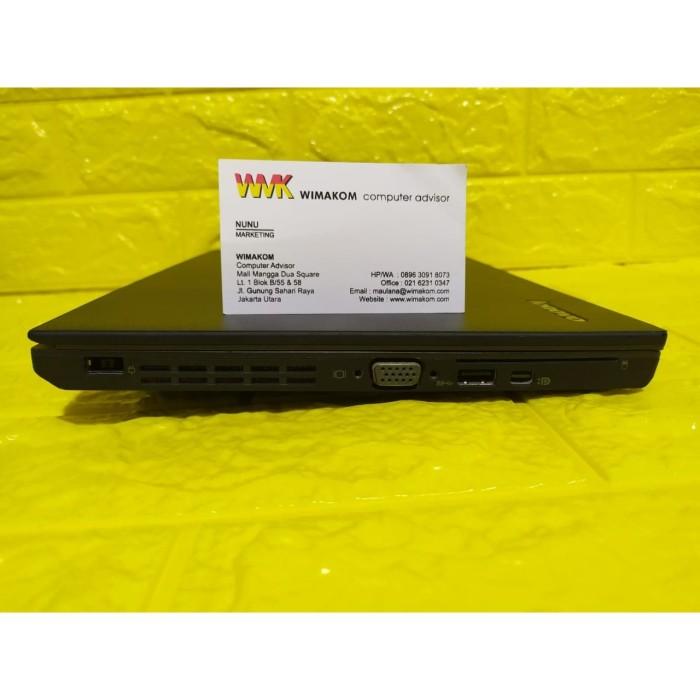 Jual Laptop Lenovo Thinkpad X240 I3 Gen 4 Ram 4gb Hdd 320gb Bisa Cod Jakarta Utara Wimakom Ahmad Tokopedia