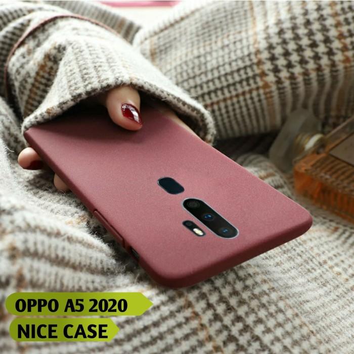 Foto Produk OPPO A5 2020 SOFT CASE SILIKON MATTE SCRUB KESET TIPIS SLIM FIT dari NICE CASE