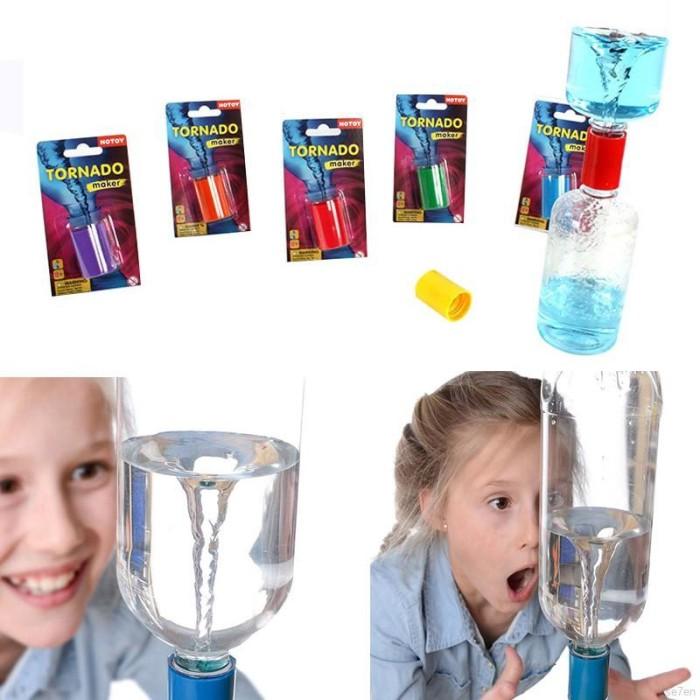 Foto Produk Mainan Edukasi Percobaan Sains Alat Pembuat Tornado Air untuk Hadiah A dari Random Shop B