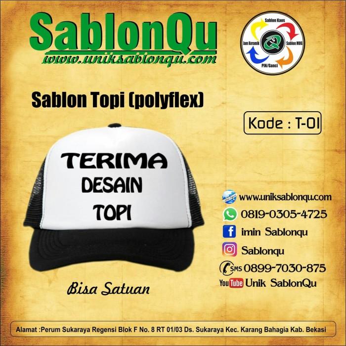 Foto Produk sablon topi satuan dari SablonQu