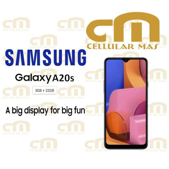 harga Samsung galaxy a20s 3/32 ram 3gb rom 32gb garansi resmi sein - merah Tokopedia.com