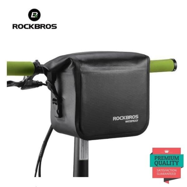 Foto Produk Tas Sepeda Depan Selempang RockBros Bike Handlebar Front Waterproof dari Rockbros Bike