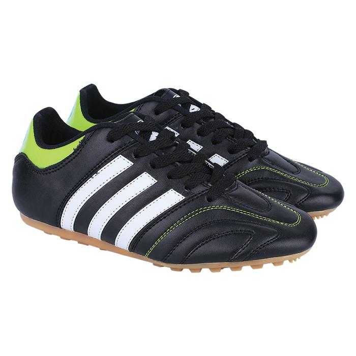 Catenzo - sepatu futsal anak cns 058 hitam - 37