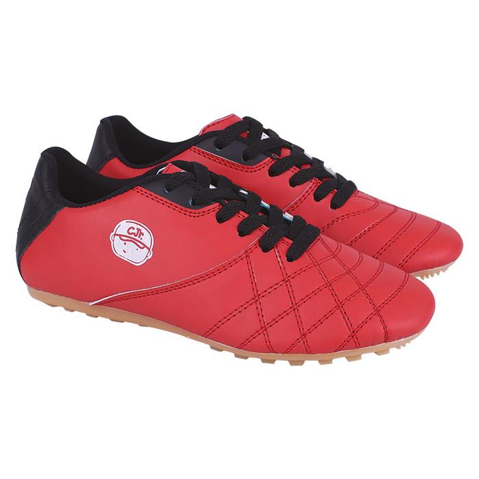 Catenzo - sepatu futsal anak cns 070 merah - 34