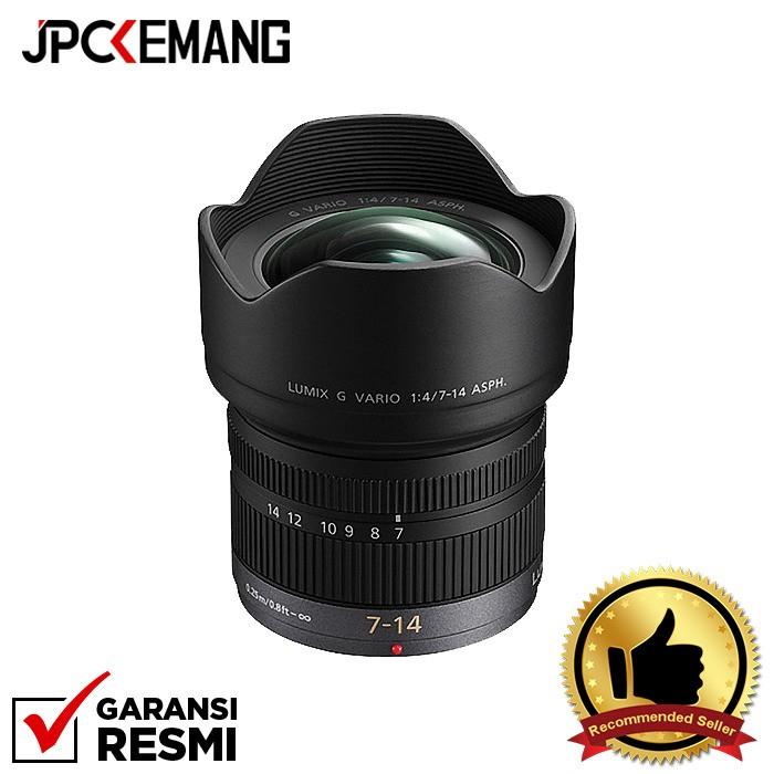 Foto Produk Panasonic 7-14mm f/4.0 ASPH GARANSI RESMI dari JPCKemang