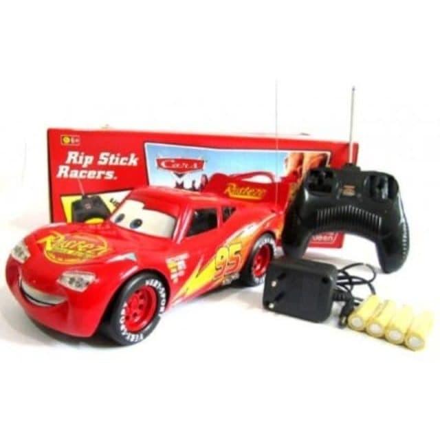 jual mainan anak rc cars mcqueen recharge  mainan mobil