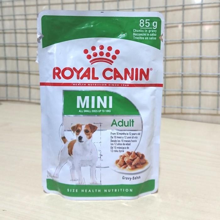 Foto Produk Royal canin pouch mini adult 85gr dari AN Petshop ( murah )