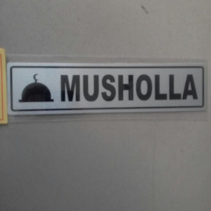 Foto Produk sign board bahan besi musholla dari rumasa