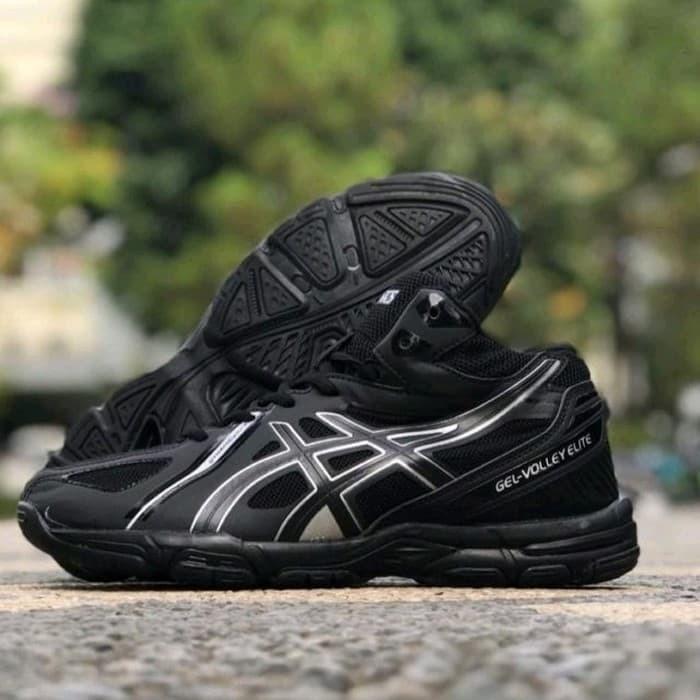 rigidez Cerco De vez en cuando  Jual asics gel elite hitam - Kab. Tangerang - shoes shop   Tokopedia