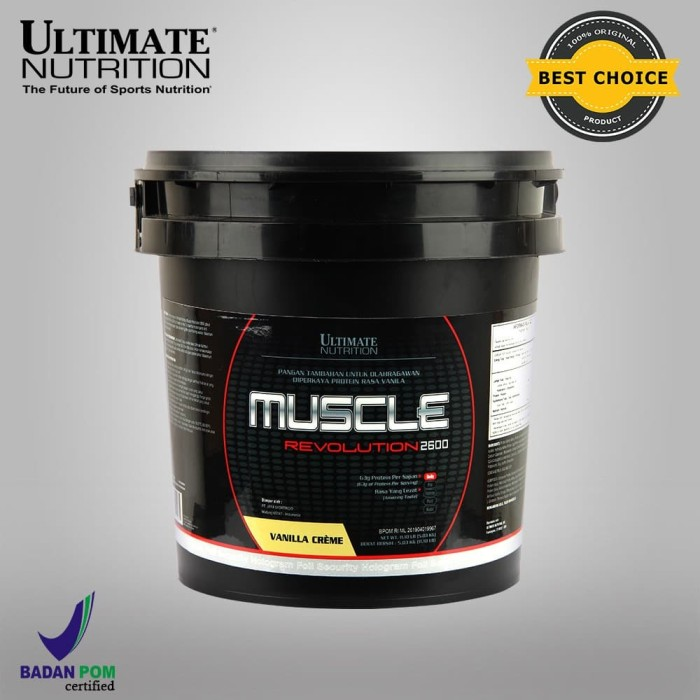 Foto Produk Muscle Revolution 2600 (Rasa Vanilla), 11.10Lbs - Ultimate Nutrition dari Ultimate Nutrition