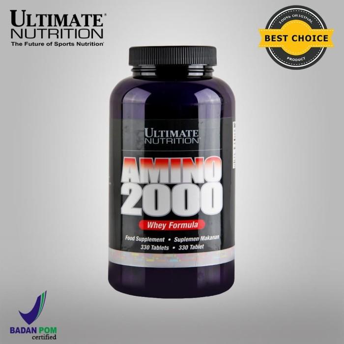 Foto Produk AMINO 2000, 330 Tabs - Ultimate Nutrition dari Ultimate Nutrition