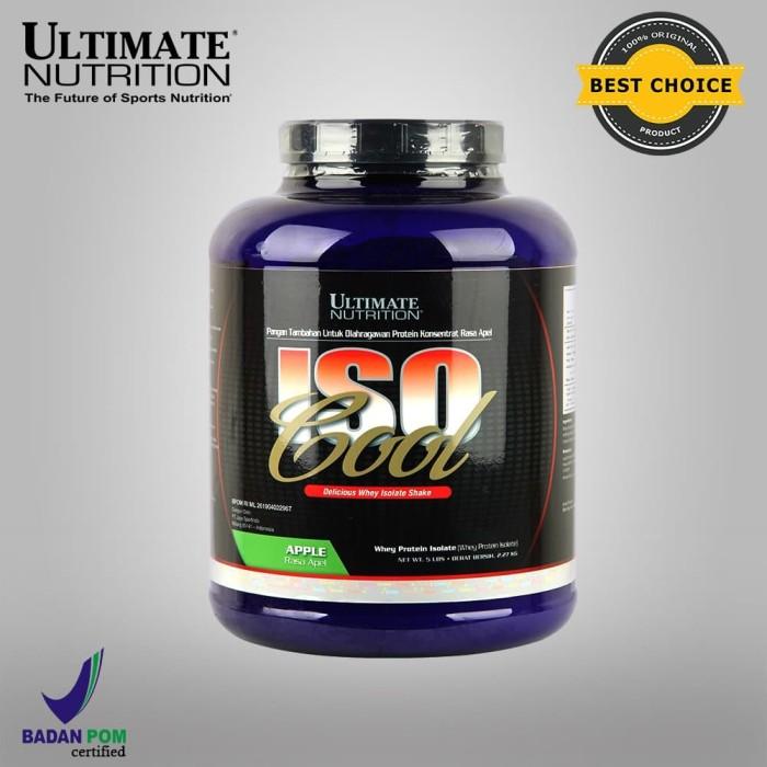 Foto Produk Iso Cool, 5 lbs (Rasa Apple, Chocolate) - Ultimate Nutrition Official dari Ultimate Nutrition