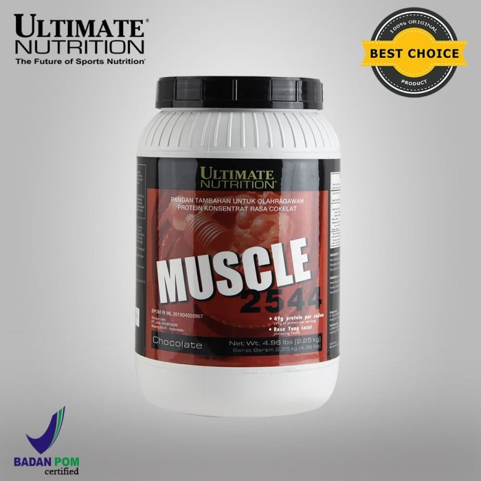 Foto Produk Muscle Juice (Chocolate), 4.96 lbs - Ultimate Nutrition dari Ultimate Nutrition