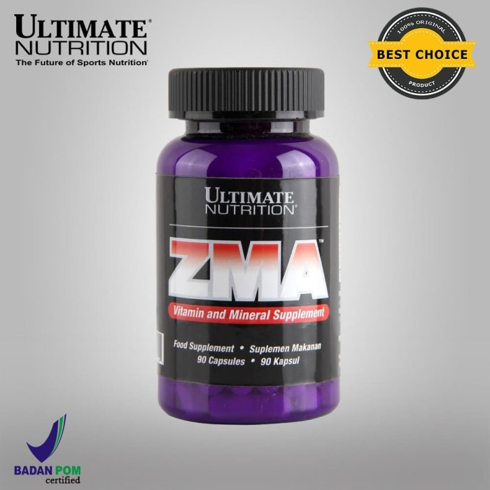Foto Produk ZMA, 90 Caps - Ultimate Nutrition Official dari Ultimate Nutrition