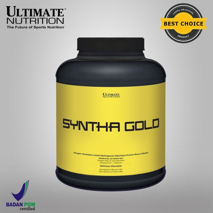 Foto Produk SYNTHA GOLD, 5 Lbs Chocolate - ULTIMATE NUTRITION. dari Ultimate Nutrition