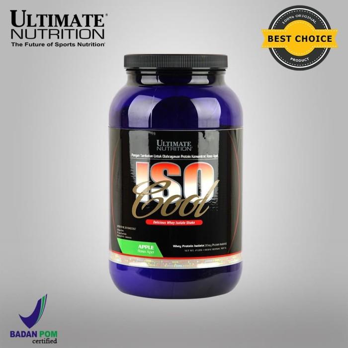 Foto Produk Iso Cool, 2 lbs (Rasa Apple, Chocolate) - Ultimate Nutrition Official dari Ultimate Nutrition