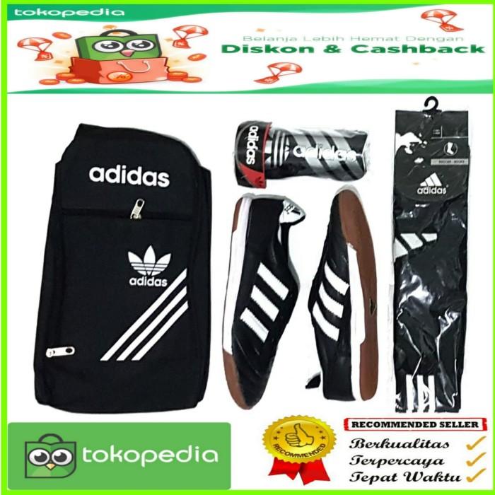 Foto Produk sepatu futsal KULIT ASLI 1 set lengkap dari effasport