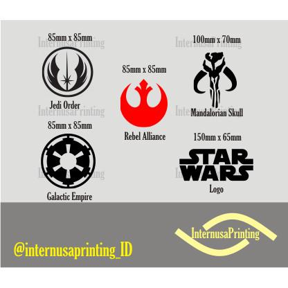 Jual Cutting Stiker Oracal Starwars Kab Sukabumi Mdecomp Tokopedia