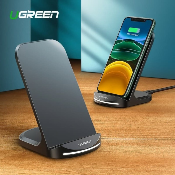 Foto Produk Ugreen Desktop Wireless Charger Black-60228 dari Ugreen ID