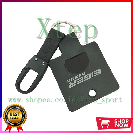 Jual Gantungan Kunci Eiger 910003178 001 Aston Keychain Black Jakarta Pusat Liza Stores Tokopedia
