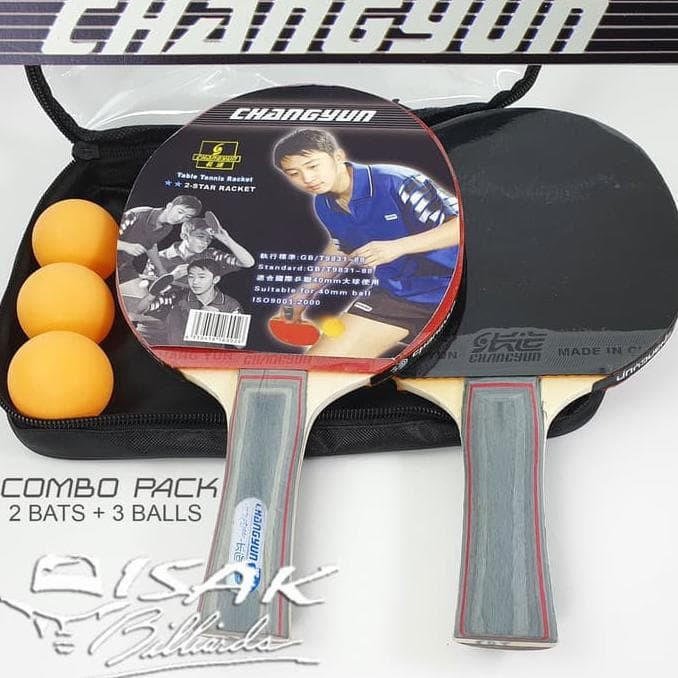 Instant Table Tennis with Two Bats PingPong Travel Portable Balls and Net