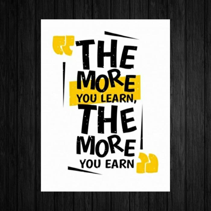 Jual Poster Quotes A4 Kata Kata Motivasi Hiasan Dinding 01 ...