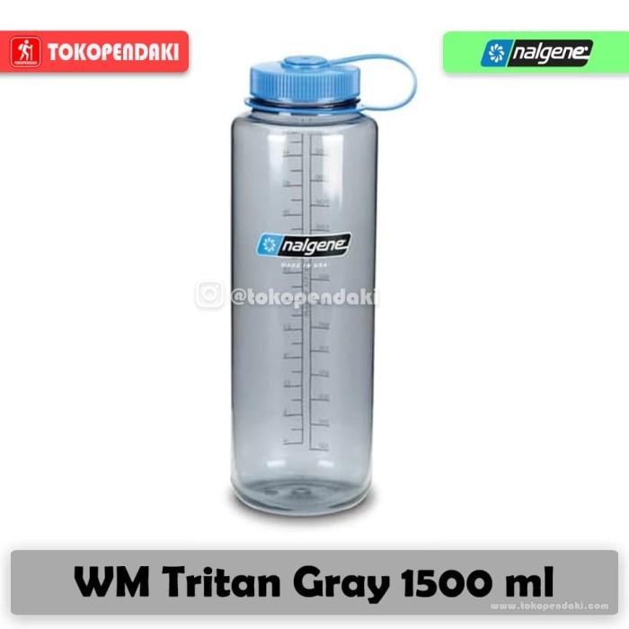 Foto Produk Nalgene WM Wide Mouth Tritan Botol Air Minum Olahraga Outdoor 1500 ml - Random dari TOKOPENDAKI