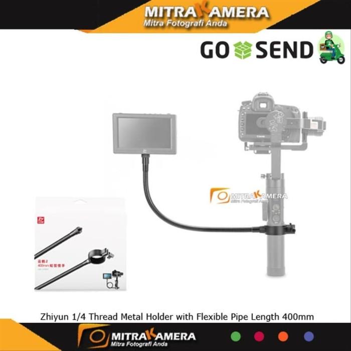 "ZHIYUN 1//4"" Thread Metal Holder Flexible Pipe 400mm For GImbal Expand Screen Mic"