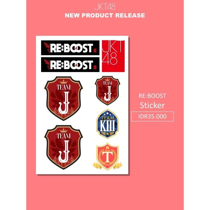 Foto Produk JKT48 Sticker Team J dari JKT48 Official Shop