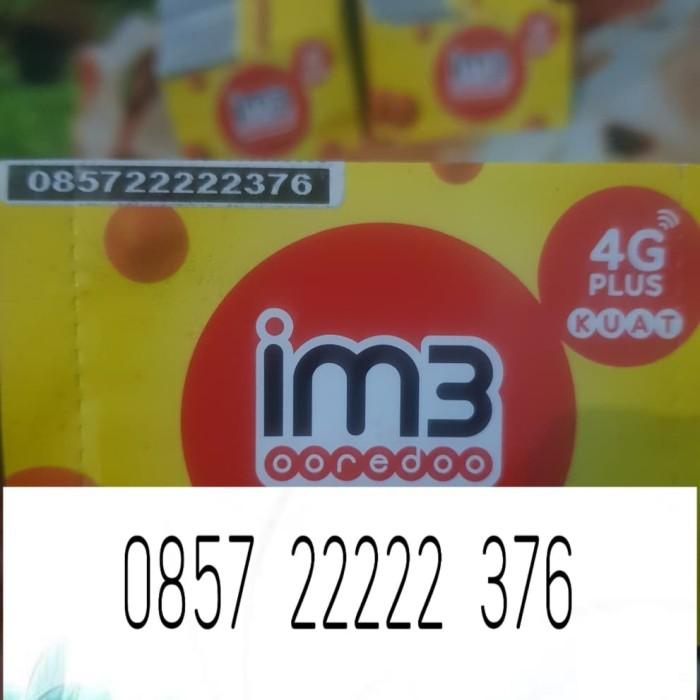 Foto Produk nomor cantik indosat im3 4g lte manis unik murah 22 222 2222 22222 376 dari aka cell