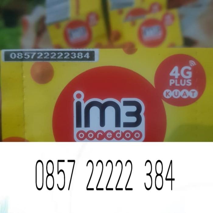 Foto Produk nomor cantik indosat im3 4g lte manis unik murah 22 222 2222 22222 384 dari aka cell