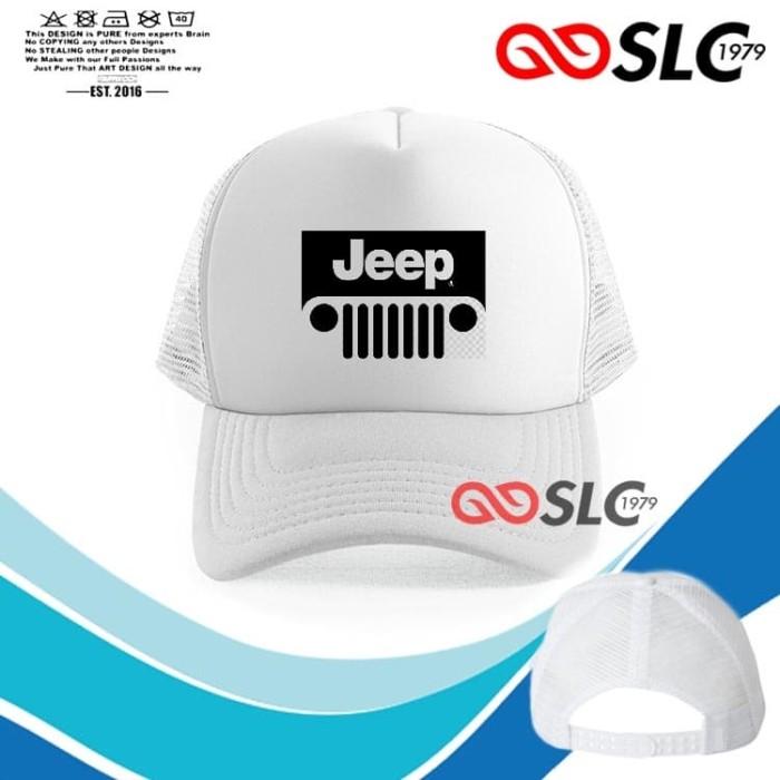 Foto Produk TOPI JARING TRUCKER PUTIH JEEP K56 - SLC dari Sissy lensa alfathan
