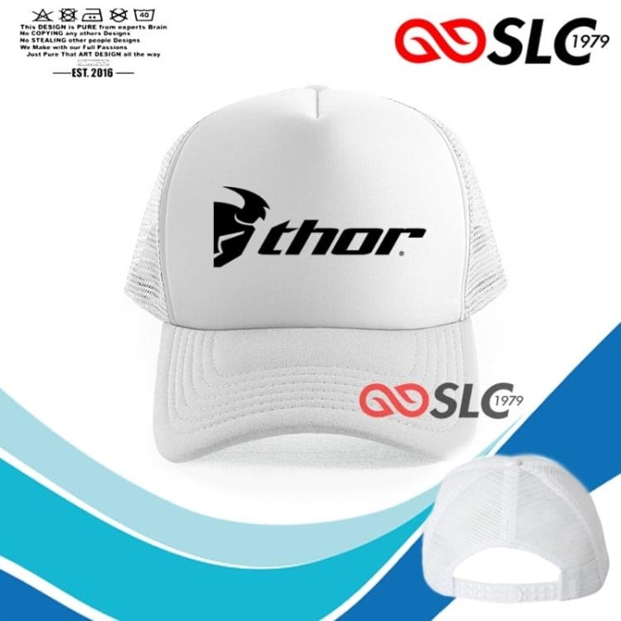 Foto Produk TOPI JARING TRUCKER PUTIH THOR CX6 - SLC dari Sissy lensa alfathan