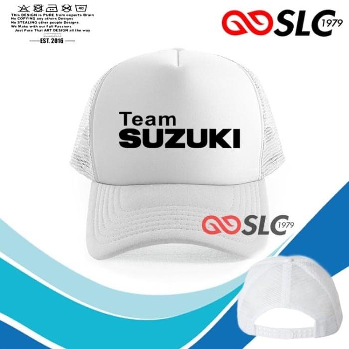 Foto Produk TOPI JARING TRUCKER PUTIH TEAM SUZUKI UB6 - SLC dari Sissy lensa alfathan
