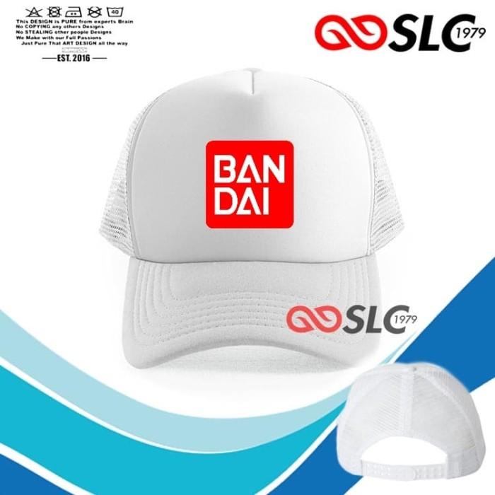 Foto Produk TOPI JARING TRUCKER PUTIH BANDAI U76 - SLC dari Sissy lensa alfathan