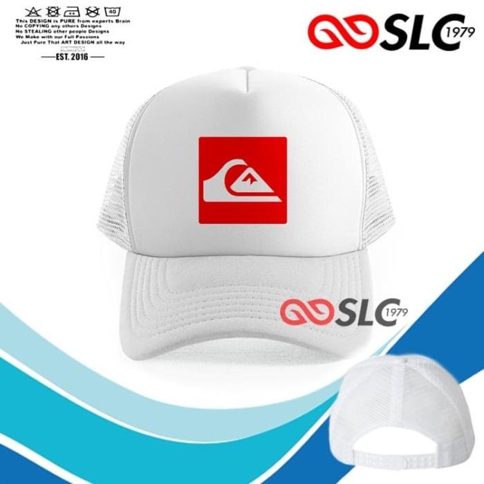 Foto Produk TOPI JARING TRUCKER PUTIH QUIKSILVER C56 - SLC dari Sissy lensa alfathan