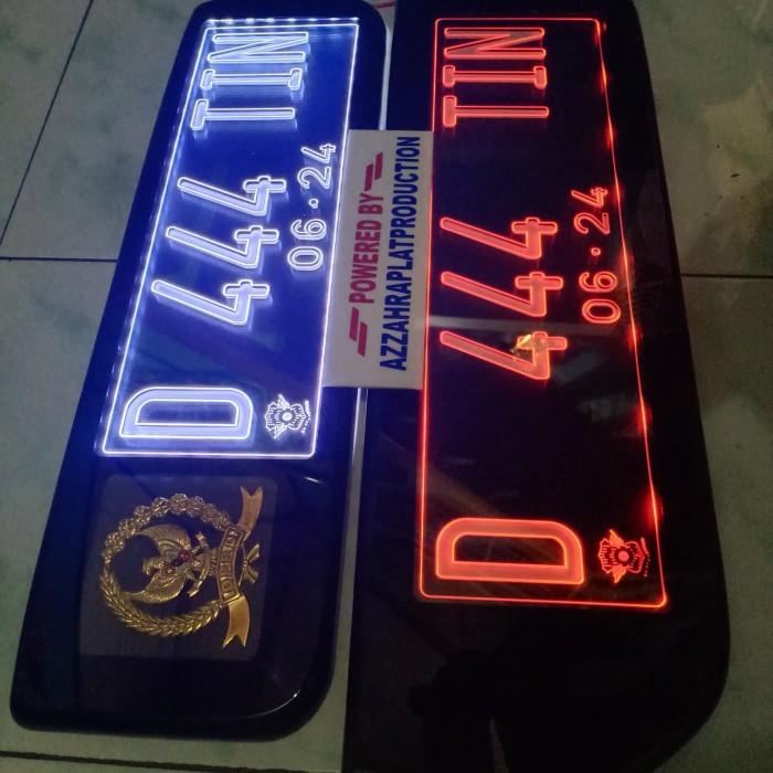 Jual Custom Lampu Plat Mobil