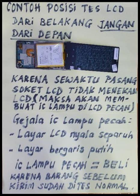 """Foto Produk Lcd Touchscreen Fullset Original Oem Sony Xperia Z3 Big 5.2"""" - D6603 dari Karlmalone Store"""