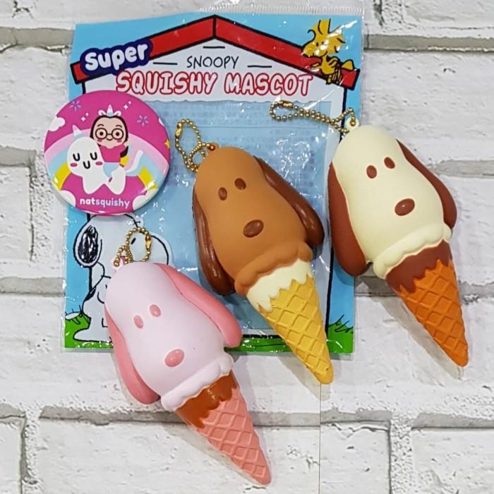 Foto Produk squishy snoopy ice cream dari natsquishy