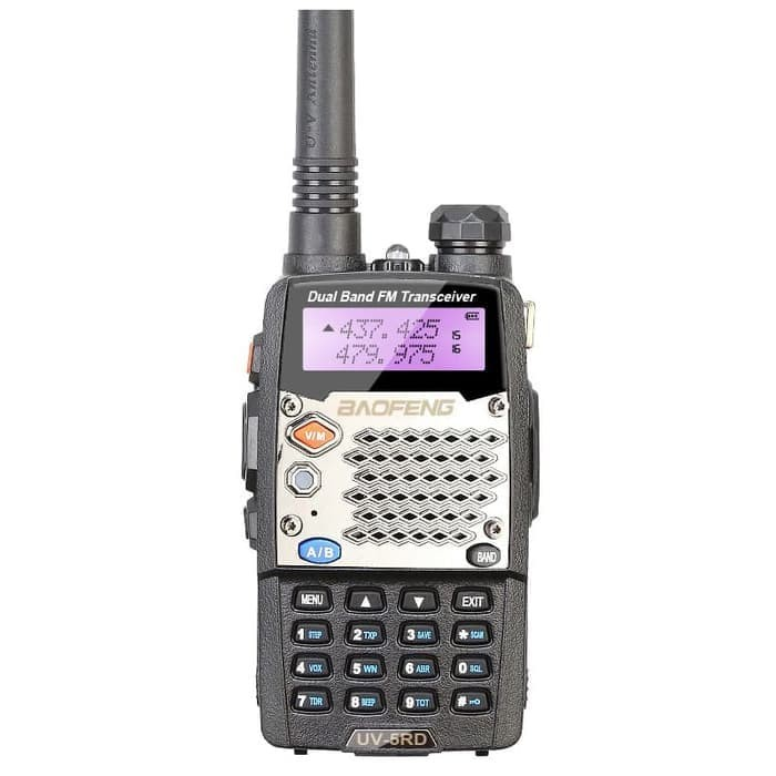 Foto Produk Taffware Walkie Talkie Dual Band Radio 5W 128CH UHF+VHF - UV-5RD dari TokoSetia