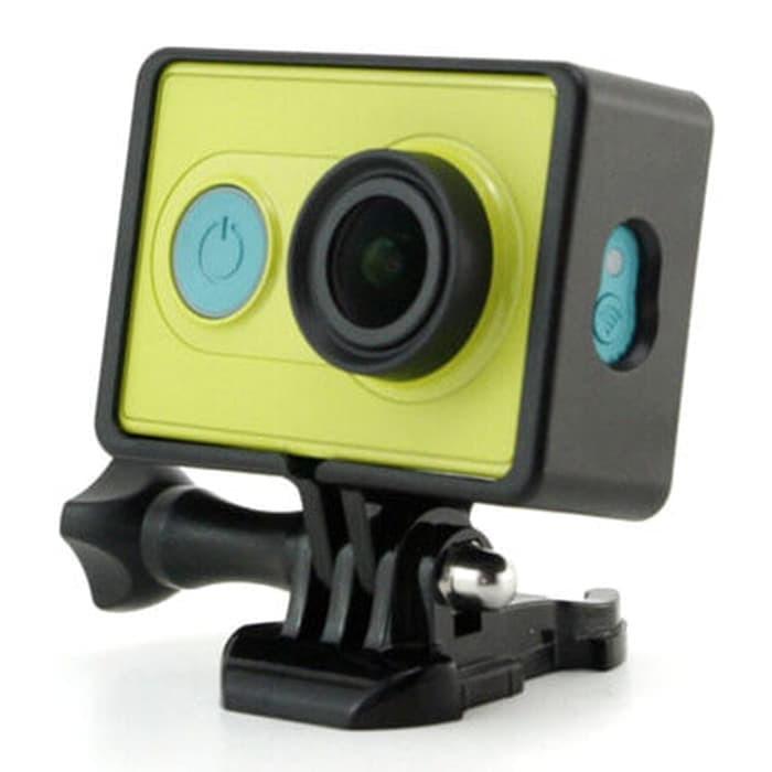 Foto Produk Plastic Side Frame for Xiaomi Yi Action Camera - Black dari TokoSetia