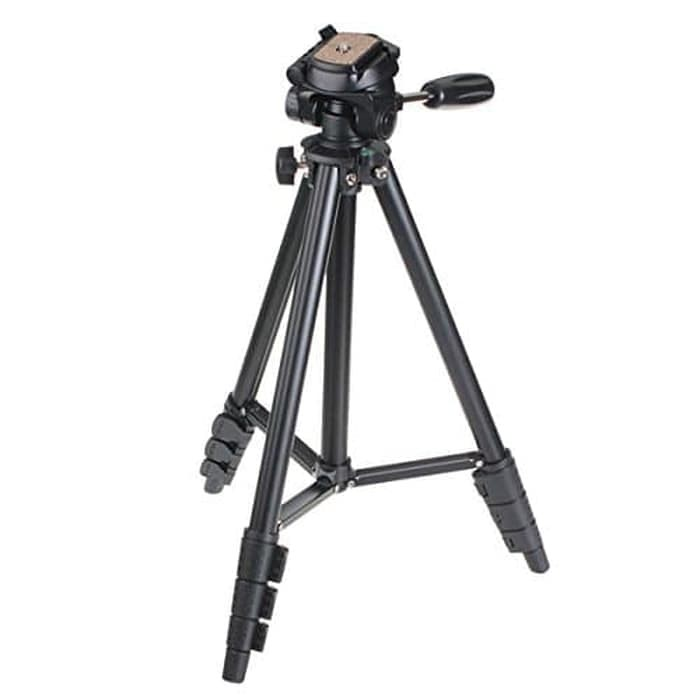 Foto Produk Yunteng Portable Lightweight Tripod Video & Camera - VCT-681 - Black dari TokoSetia