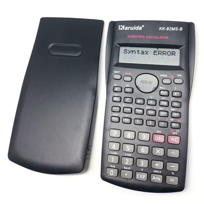 Foto Produk Karuida Kalkulator Elektronik Scientific Calculator - 82MS - Black dari TokoSetia
