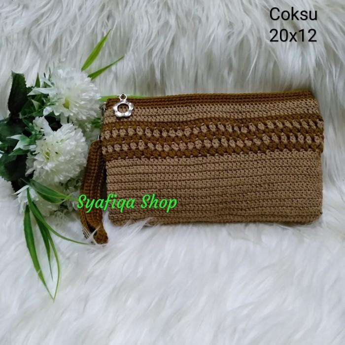 Foto Produk Dompet Rajut Simply Tali Samping - Coksu dari SHAFIQA IZZA SHOP