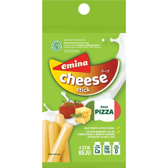 Foto Produk EMINA STICK CHEESE PIZZA 12GR / PACK dari PT PANGAN LESTARI