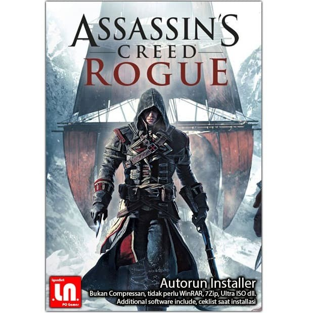 Jual Assassin Creed Rogue Pc Dvd Game Adv Kota Bandung
