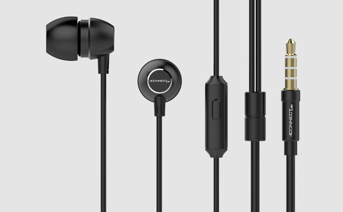Foto Produk 4Connect 4C7 Little Canon Earphones dari Aan Jaya Mart