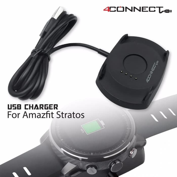Foto Produk 4Connect Amazfit Stratos Charger dari Aan Jaya Mart