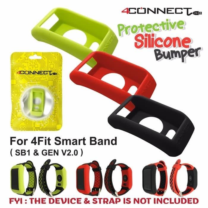 Foto Produk 4connect 4Fit Smart Band Protective Silicone Bumper dari Aan Jaya Mart