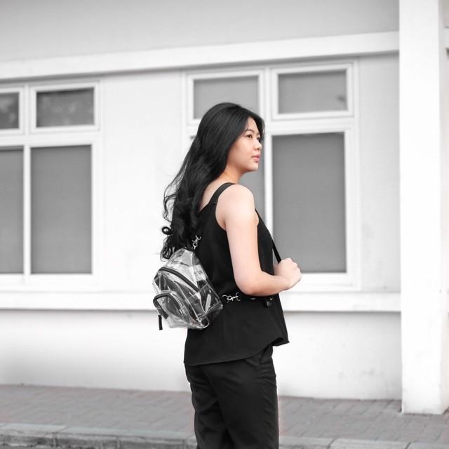 Foto Produk Mini Bagpack Transparant dari sappewali